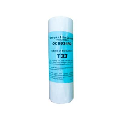 美國進口濾心大T33顆粒活性炭濾心-NSF認證